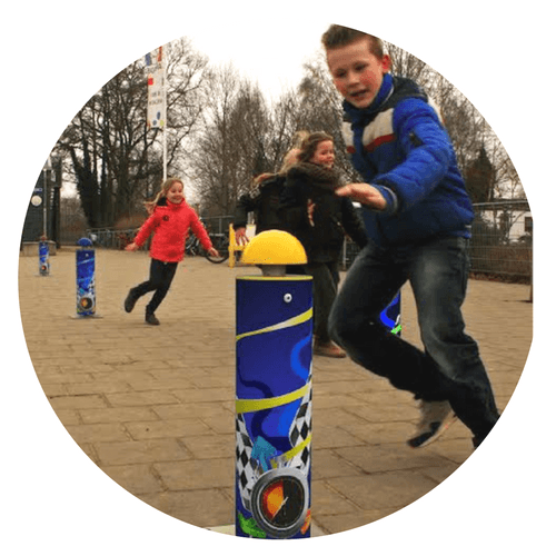 Interactive playground device