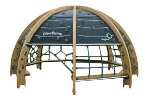 Outdoor play planetarium